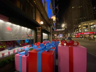 Macy's Herald Square Christmas Marquee