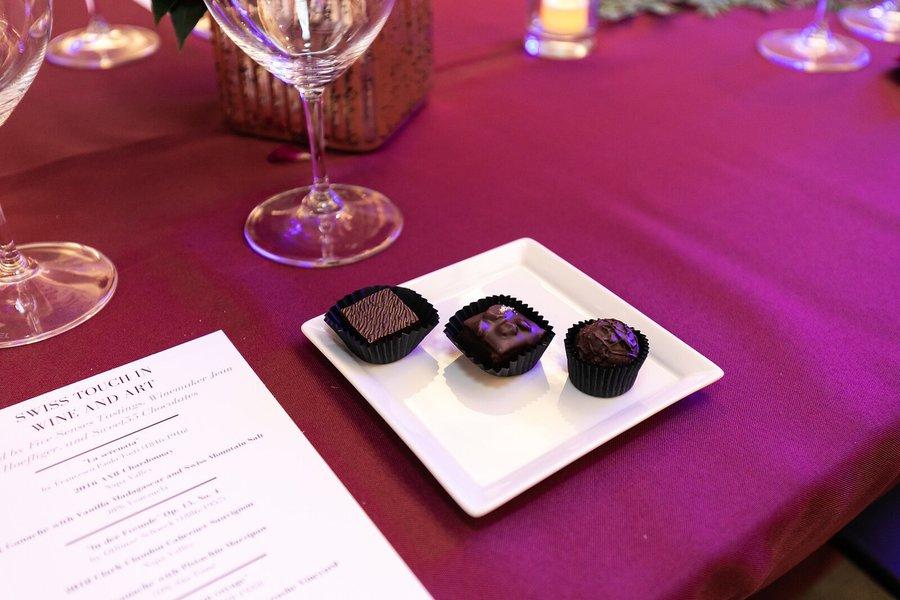 Gourmet Chocolate Tasting: Chocolate plates.jpg