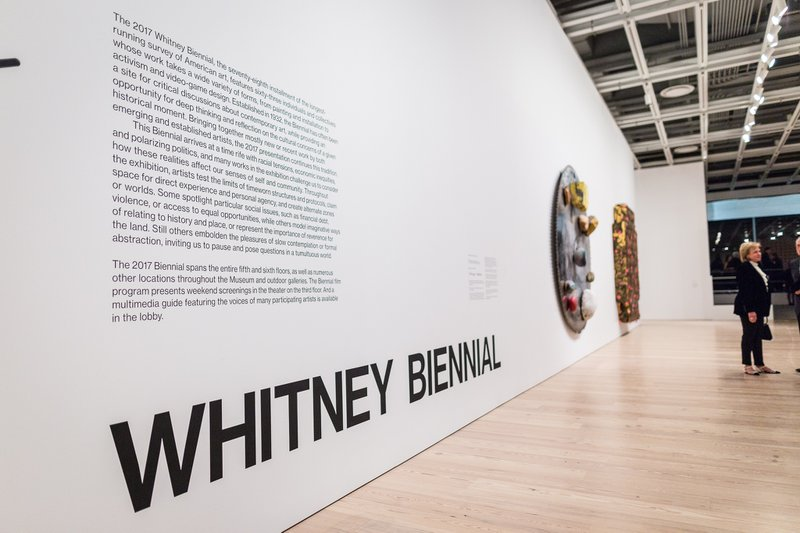 Whitney Biennial - Sotheby's Reception