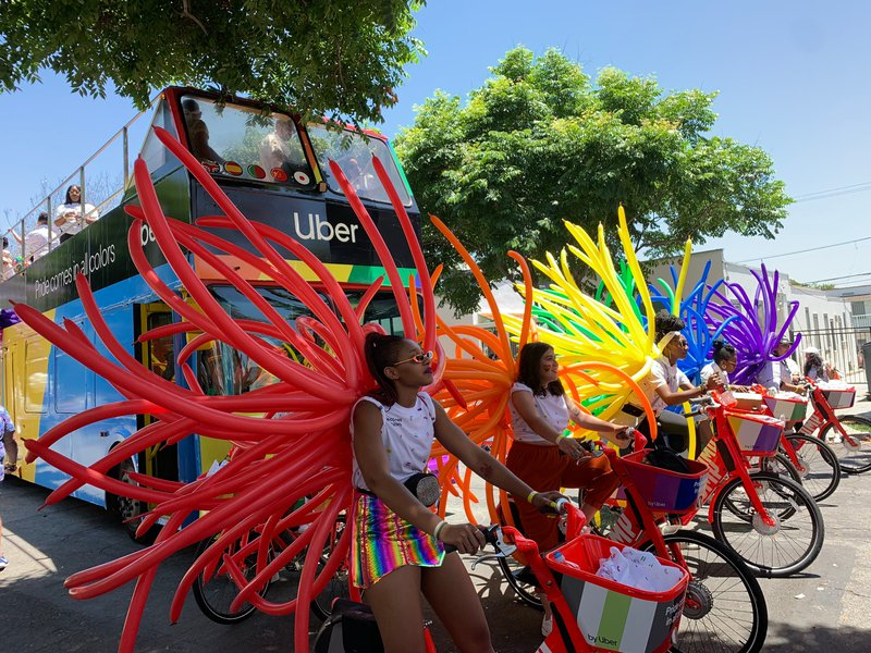 Uber Pride Float cover photo