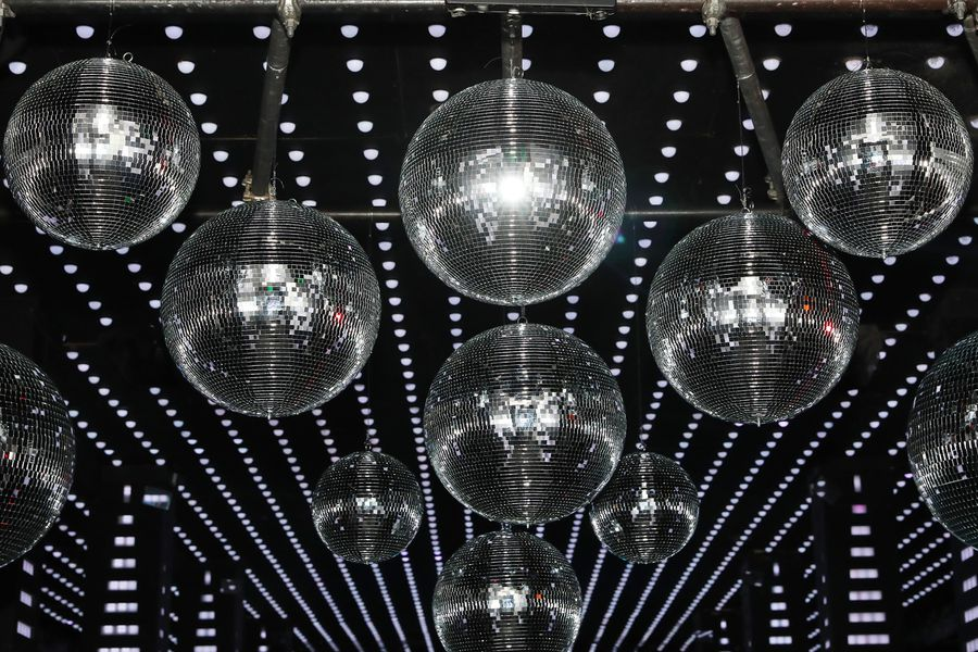 Disco-Themed Holiday Party
