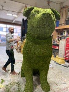 Fomo - 8 ft. Topiary Dog Sculpt photo CA269F6E-271A-45C6-8744-2E94929B63AB.jpg