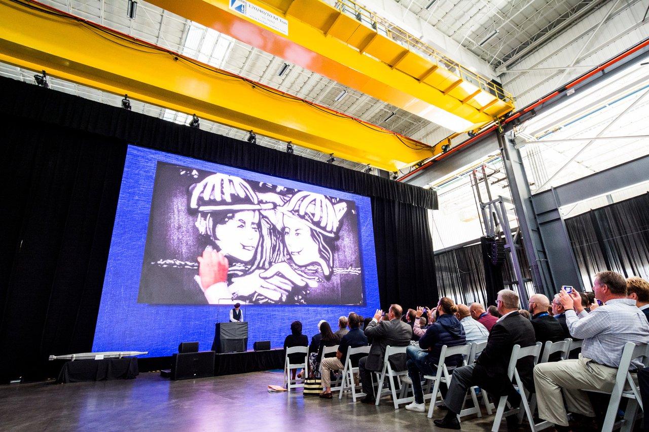 Weber Metals Grand Press Unveiling photo Sand Art Performance at Weber Metals Grand Reveal Event.jpg