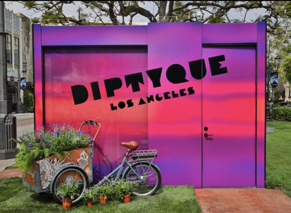 diptyque pop-up @ The Grove cover photo