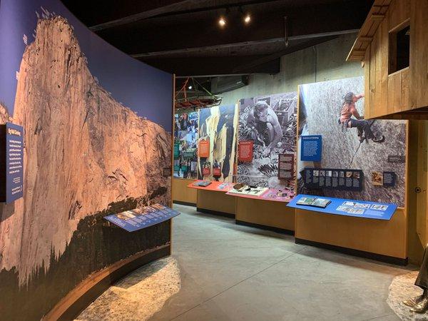 Yosemite Rock Climbing Exhibit cover photo