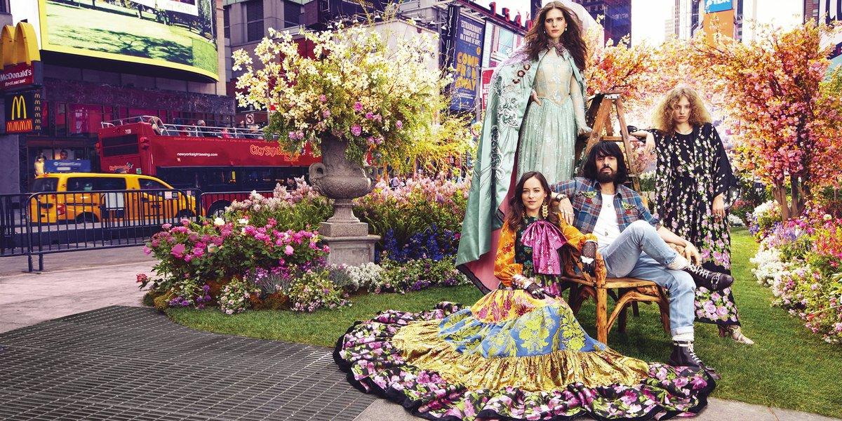 Gucci / Harpers Bazaar