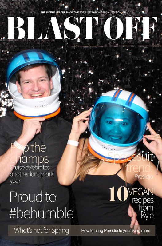 BLAST OFF! OUTER SPACE THEMED PARTY cover photo