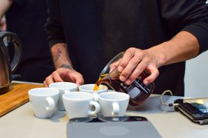 The Virtual Slurp! Coffee Tasting photo Coffee tasting.jpg