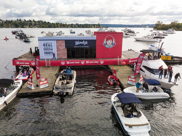 Wendy's at Univ of Washington Sailgating cover photo