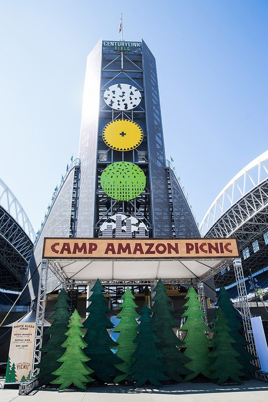 "Amazon Picnic, ""Summer Camp"" cover photo"