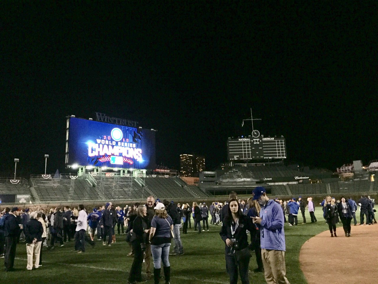Cubs World Series Player Party cover photo