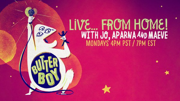 Live...From Home Butter Boy Comedy cover photo