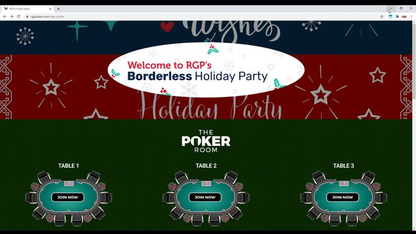 RGP Borderless Holiday Party cover photo
