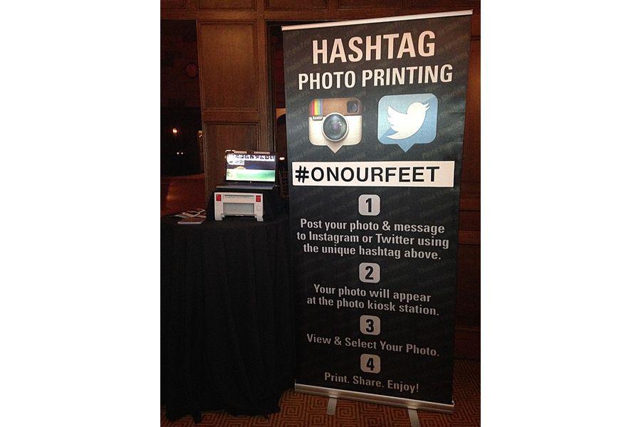 Hashtag Photo Printing service