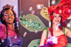 Pride Celebration at Westfield Center photo Bubbles_red&purple.jpg