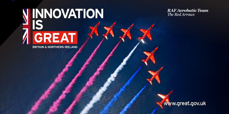 UK Government Red Arrows Reception cover photo