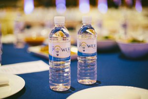 All-Hands Meeting for AltaMed photo Branded Water Bottles at All Hands Meeting.jpg