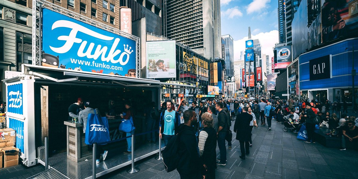 Pop-Up Activation Units to Rent or Buy service photo