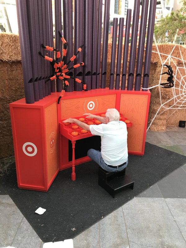 Target: Halloween Pumpkin Organ cover photo