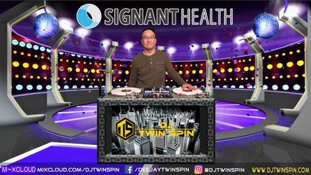 Live Virtual DJ Set For Signant Health
