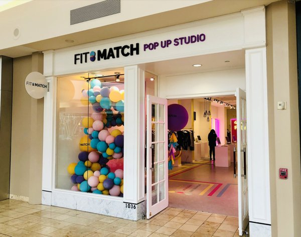 Fit:Match AI-Powered Pop Up