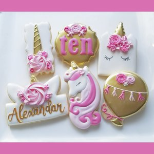 Custom Cookies for your special event! photo jill older unicorn.jpg