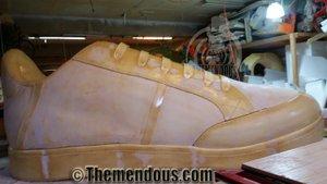 GIANT Sneaker - Grand Central Station photo Sneaker Progress 5.jpg