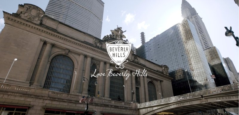 Beverly Hills in Grand Central Terminal