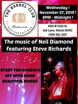 The Music of Neil Diamond !