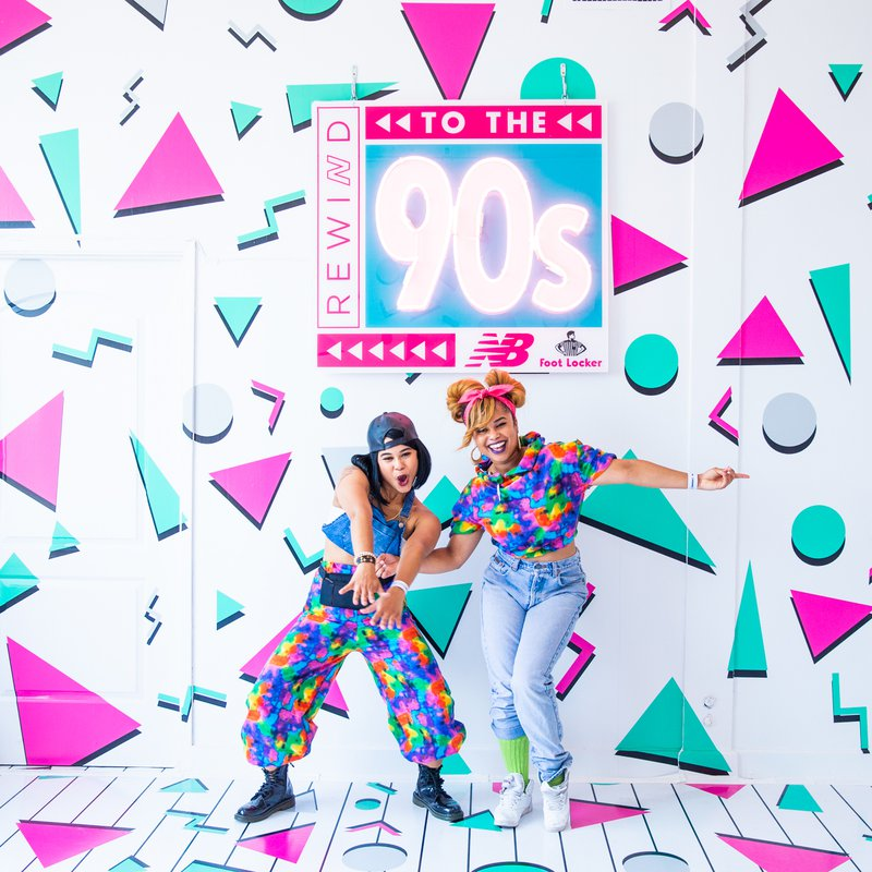 New Balance - Rewind to the 90s cover photo