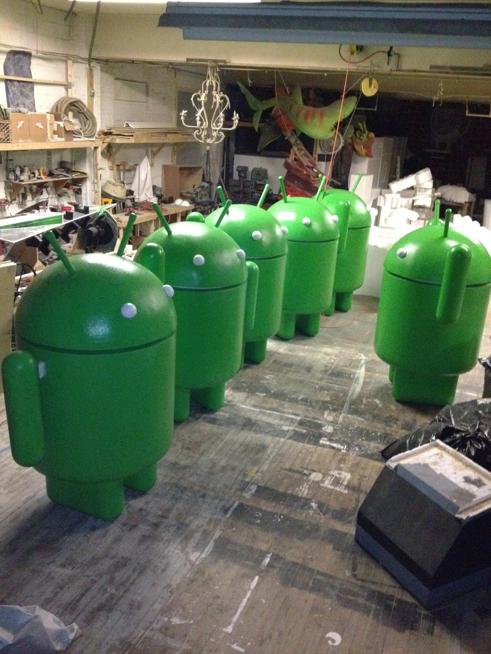 Google Headquarters -Various Androids photo IMG_8637.jpg