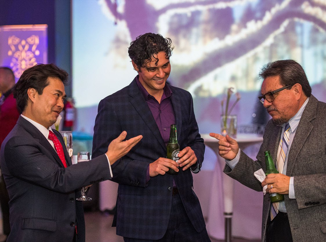 Los Angeles Law Firm's Holiday Party photo Cocktail Reception at Los Angeles Christmas Party and Anniversary Event.jpg