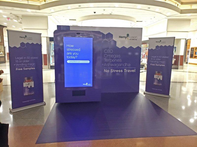 HempFusion Sampling Vending Machine