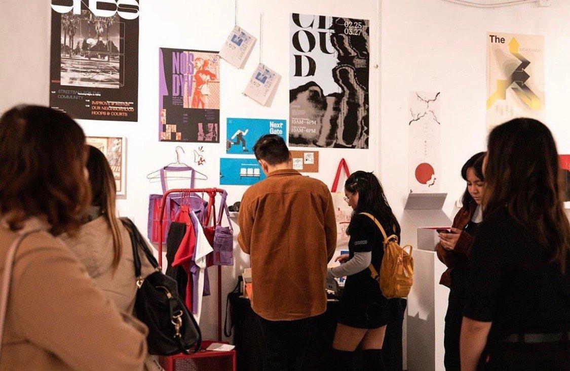 Csulb Graphic Design Bfa Exhibition Installation Exhibit In Los Angeles Ca The Vendry