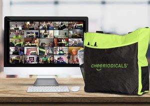 Virtual Team Building - Benefit Veterans photo VTB Zoom Screen green bags.jpg