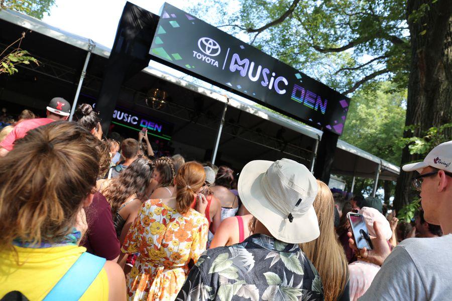 Music Den At Lollapalooza