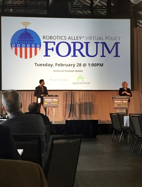 Robotics Alley - Virtual Policy Forum cover photo