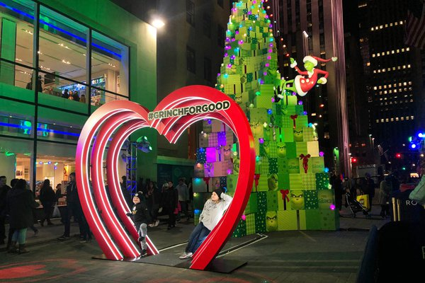 The Grinch at Rockefeller Center cover photo