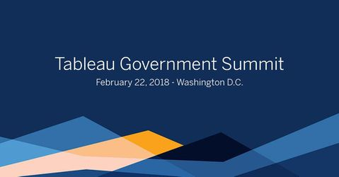 Tableau Government Summit