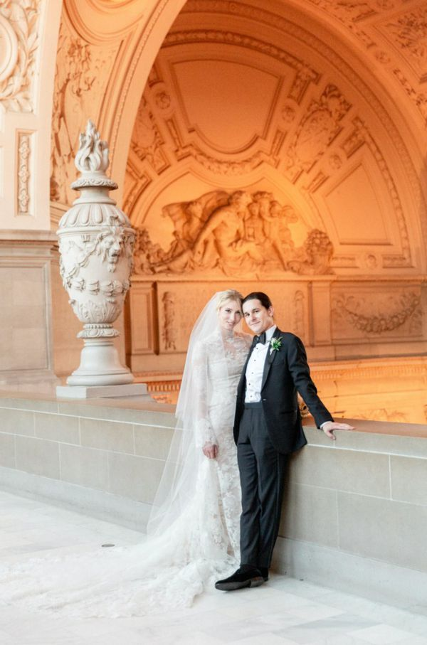 Classic Wedding at SF City Hall