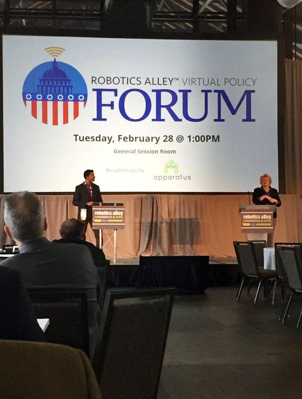 Robotics Alley - Virtual Policy Forum