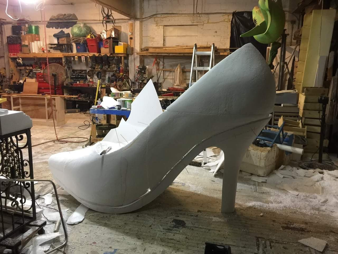 Oversized Stiletto Shoe for Beauty Event photo A0F01D06-8986-42F9-A238-4687F2B5CA30.jpg