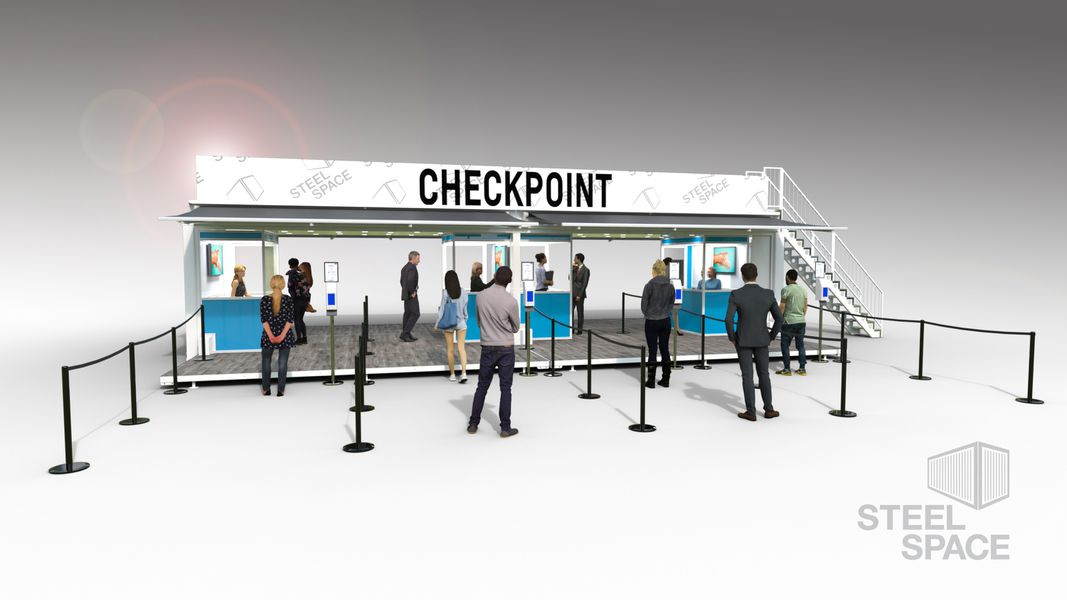 Pop-Up Mobile Checkpoint service