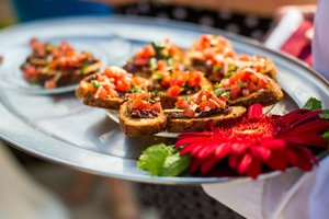 Grand Opening for Fox and Flora photo Bruschetta Hors d'Oeuvre.jpg