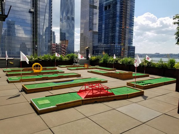 Mini Golf on NYC Rooftop cover photo