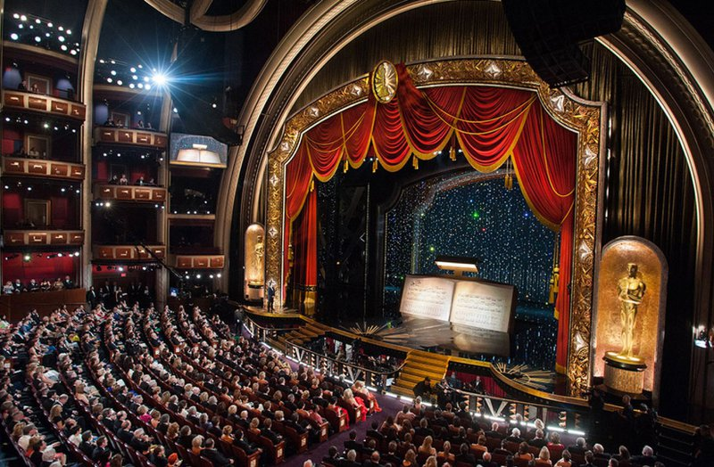 The Dolby Theatre  space photo