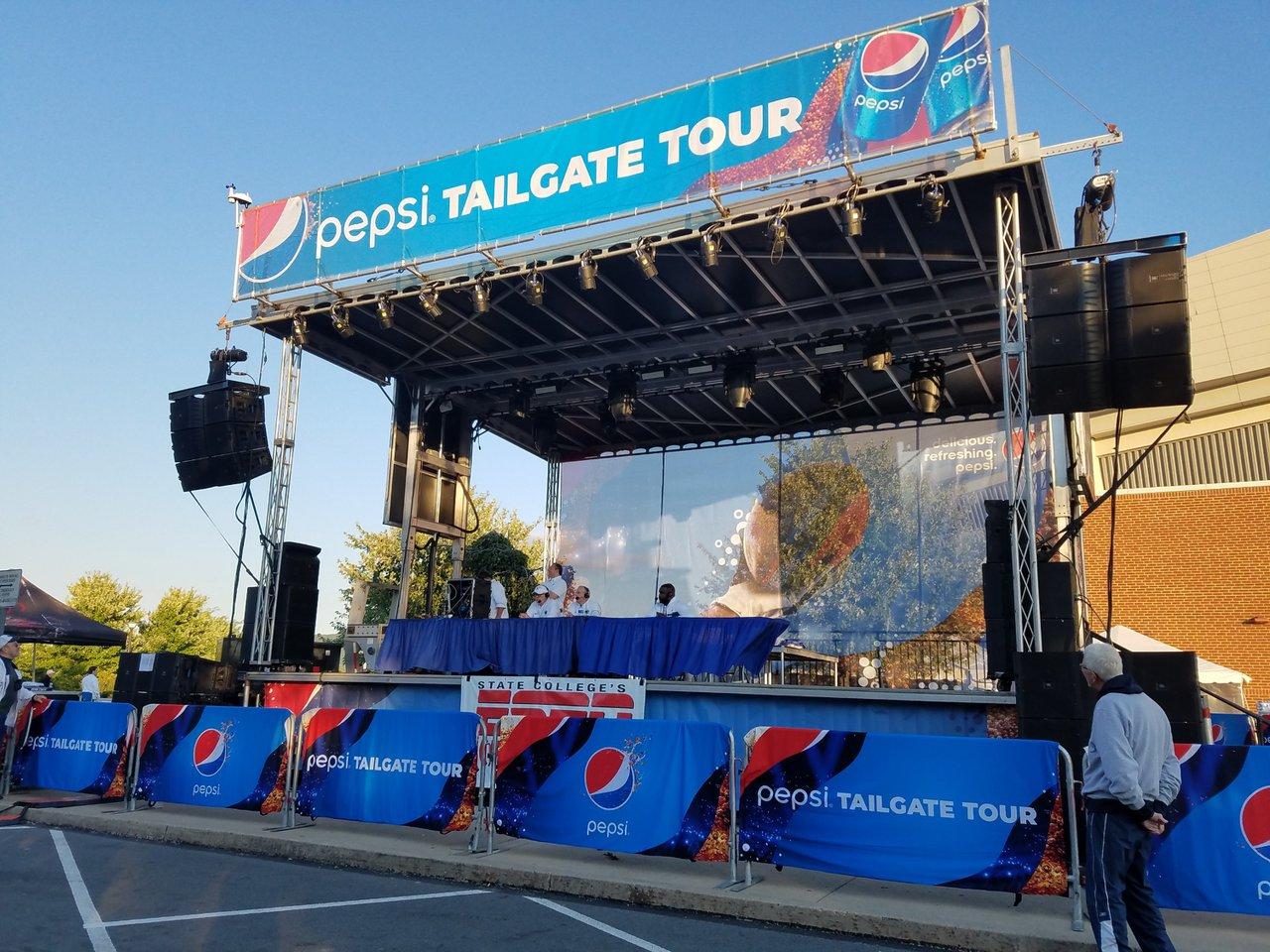 Pepsi Tailgate Tour photo Penn State - ESPN Pepsi Stage.jpg