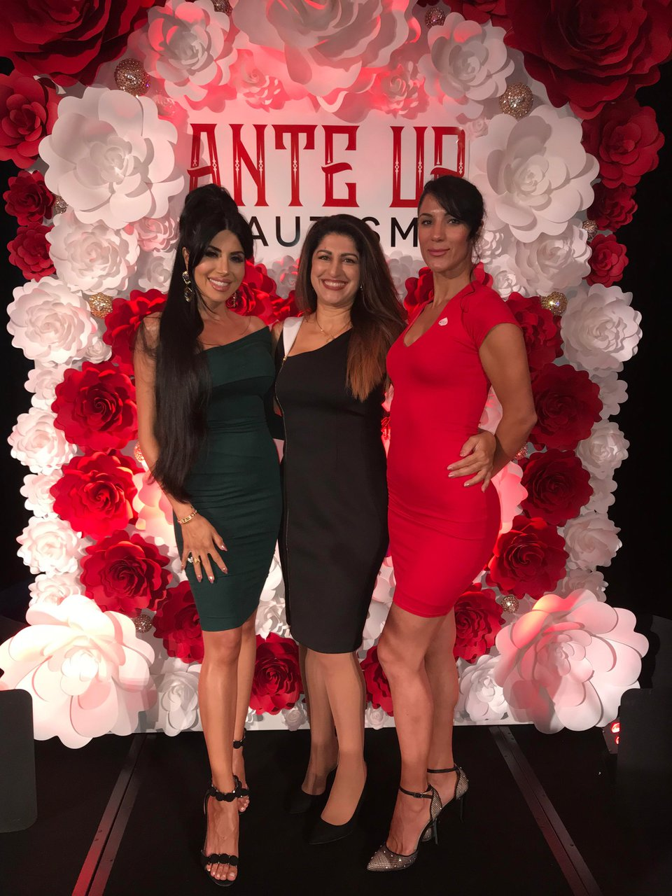 Ante Up for Autism photo heart wall 2.jpg