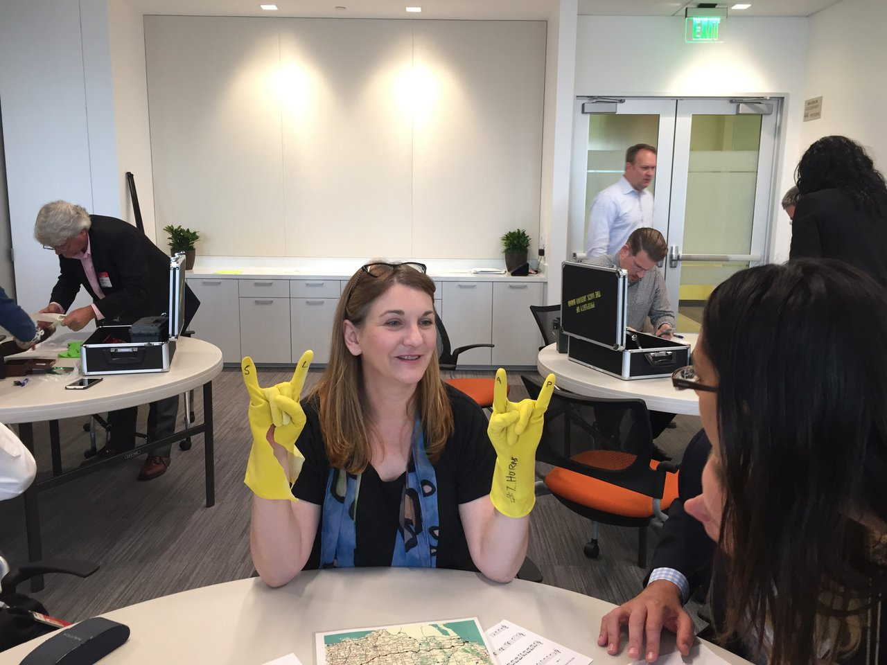 Escape From Hotel California photo yellow gloves.jpg