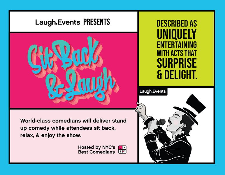 Sit Back and Laugh - Comedy Show service